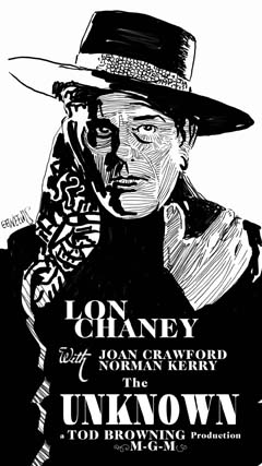 The Unknown 1927 - with Lon Chaney and Joan Crawford