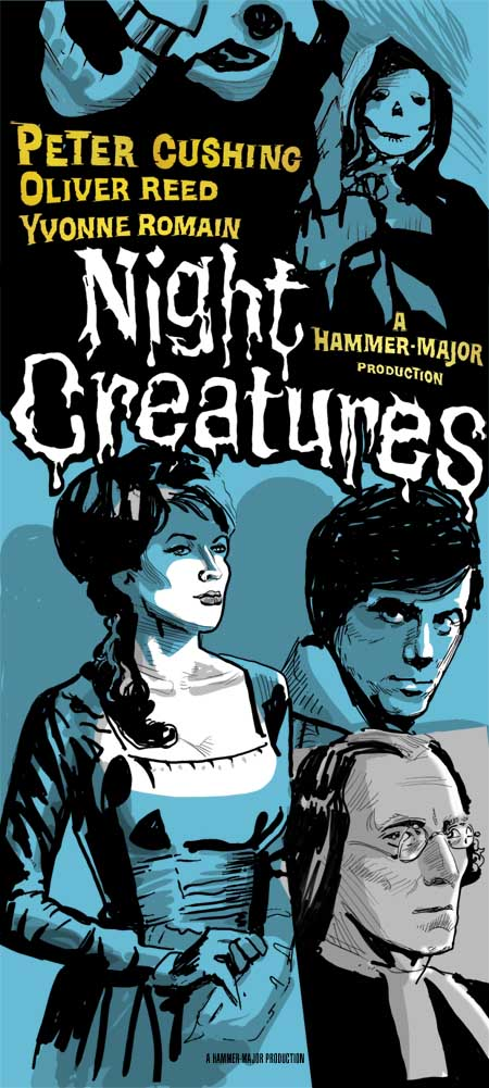 Night Creatures Poster