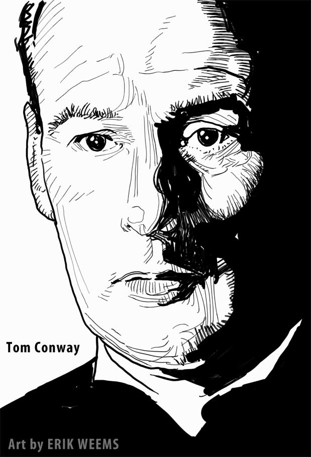 Tom Conway - art by Erik Weems