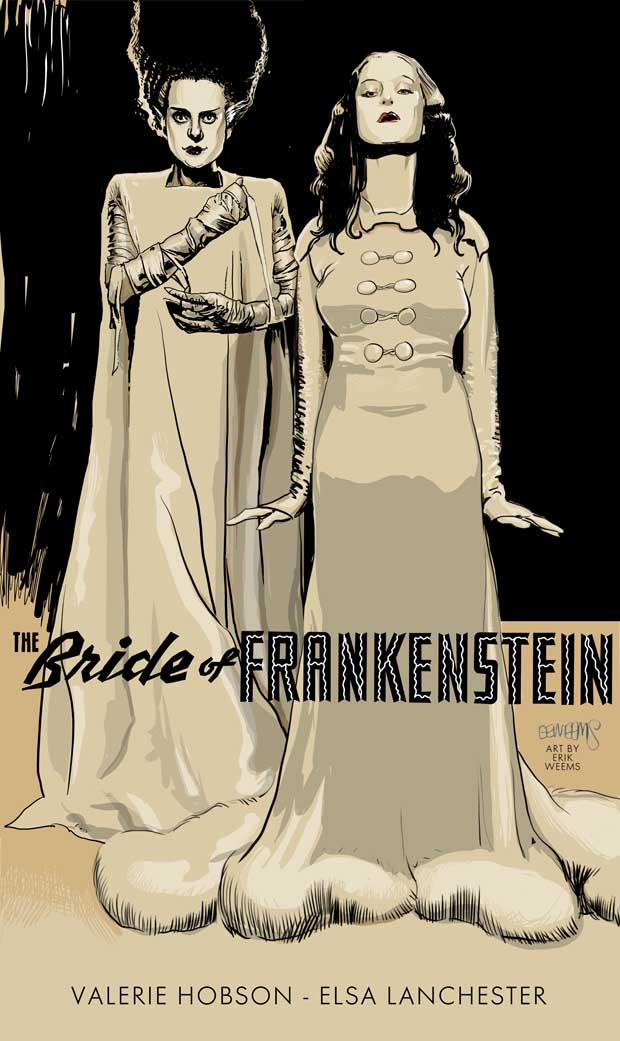 Bride of Frankenstein Poster - by Weems