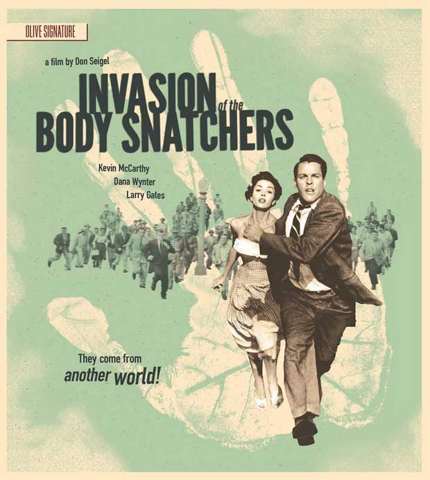 Invasion of the Body Snatchers Olive Films bluray