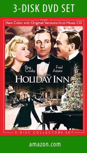 3 DISK DVD Set Holiday Inn