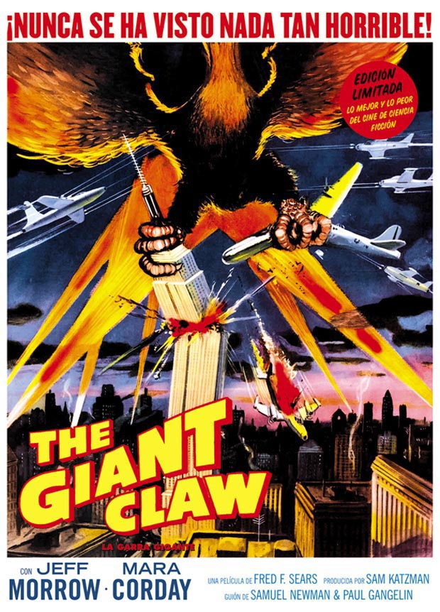 Poster The Giant Claw