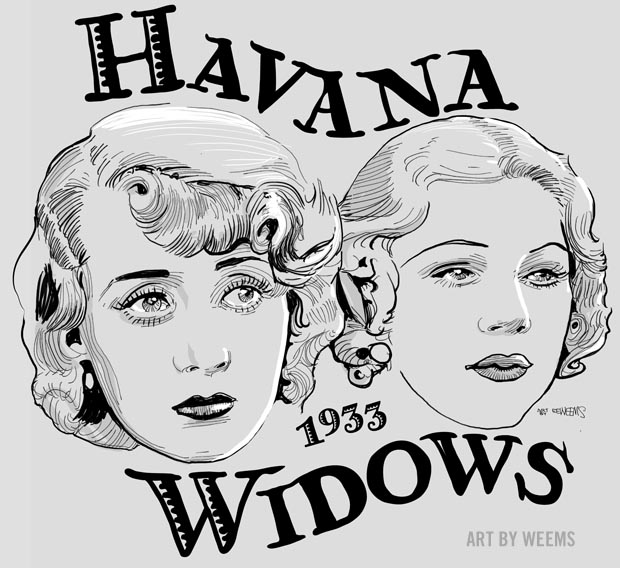 Havana Widows 1933 - Glenda Farrell and Joan Blondell