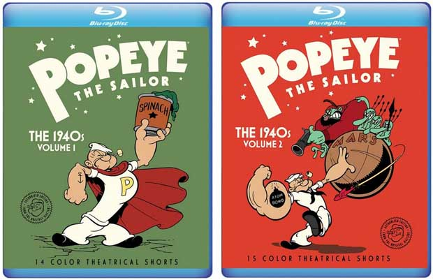 Popeye Cartoon Shorts