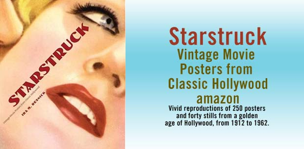 STAR STRUCK POSTERS HOLLYWOOD GOLDEN ERA