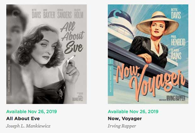 All About Eve and Voyager
