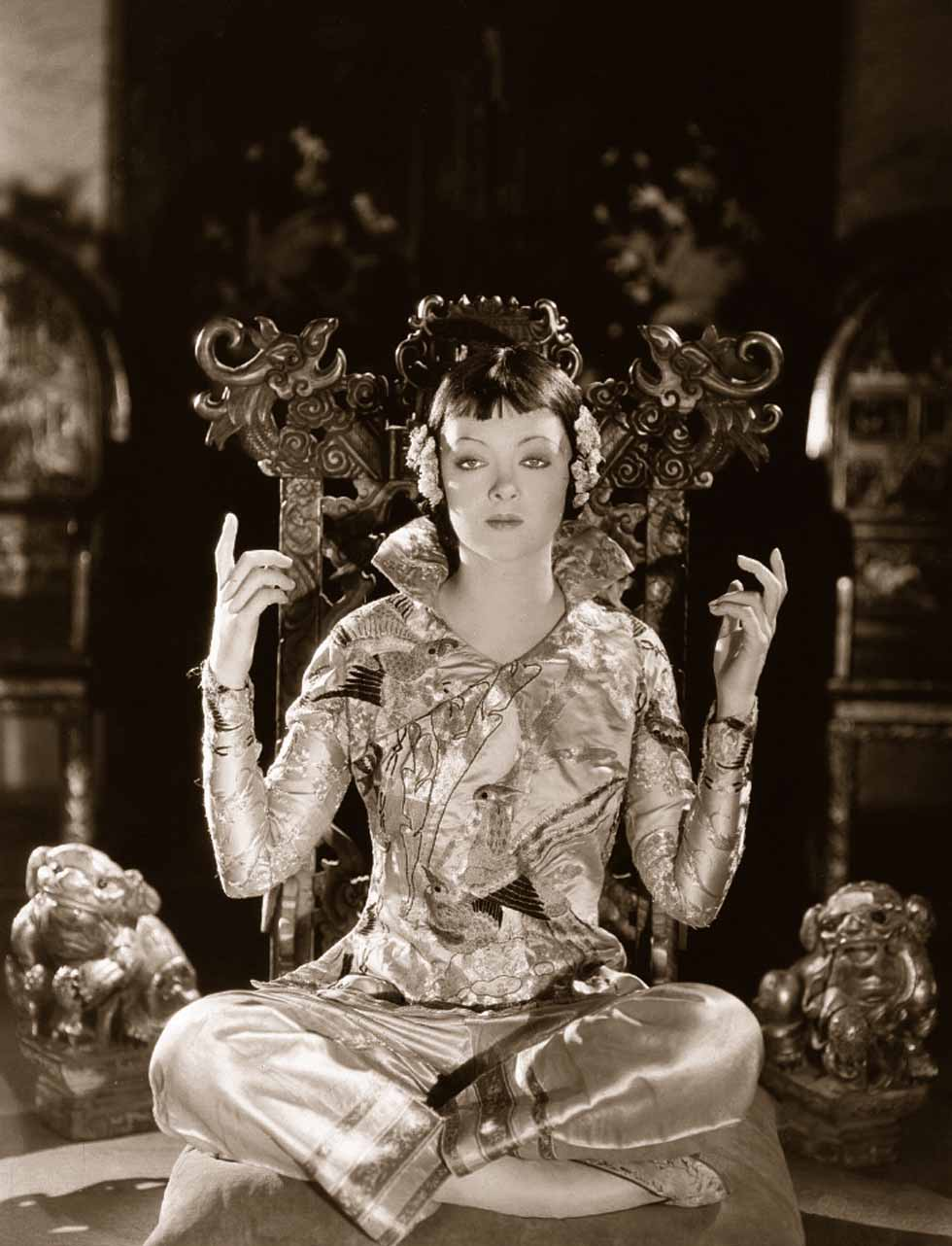 Myrna Loy - Mask of Fu Manchu