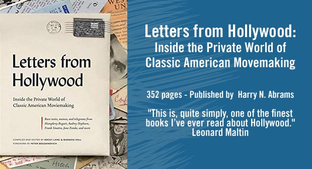 Letters from Hollywood Book