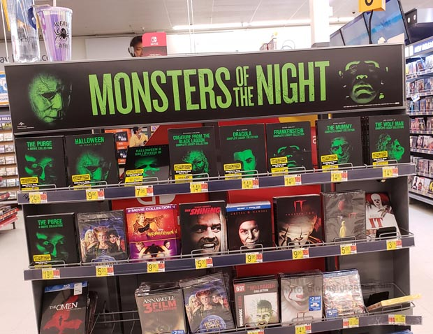 Monster Movie racks